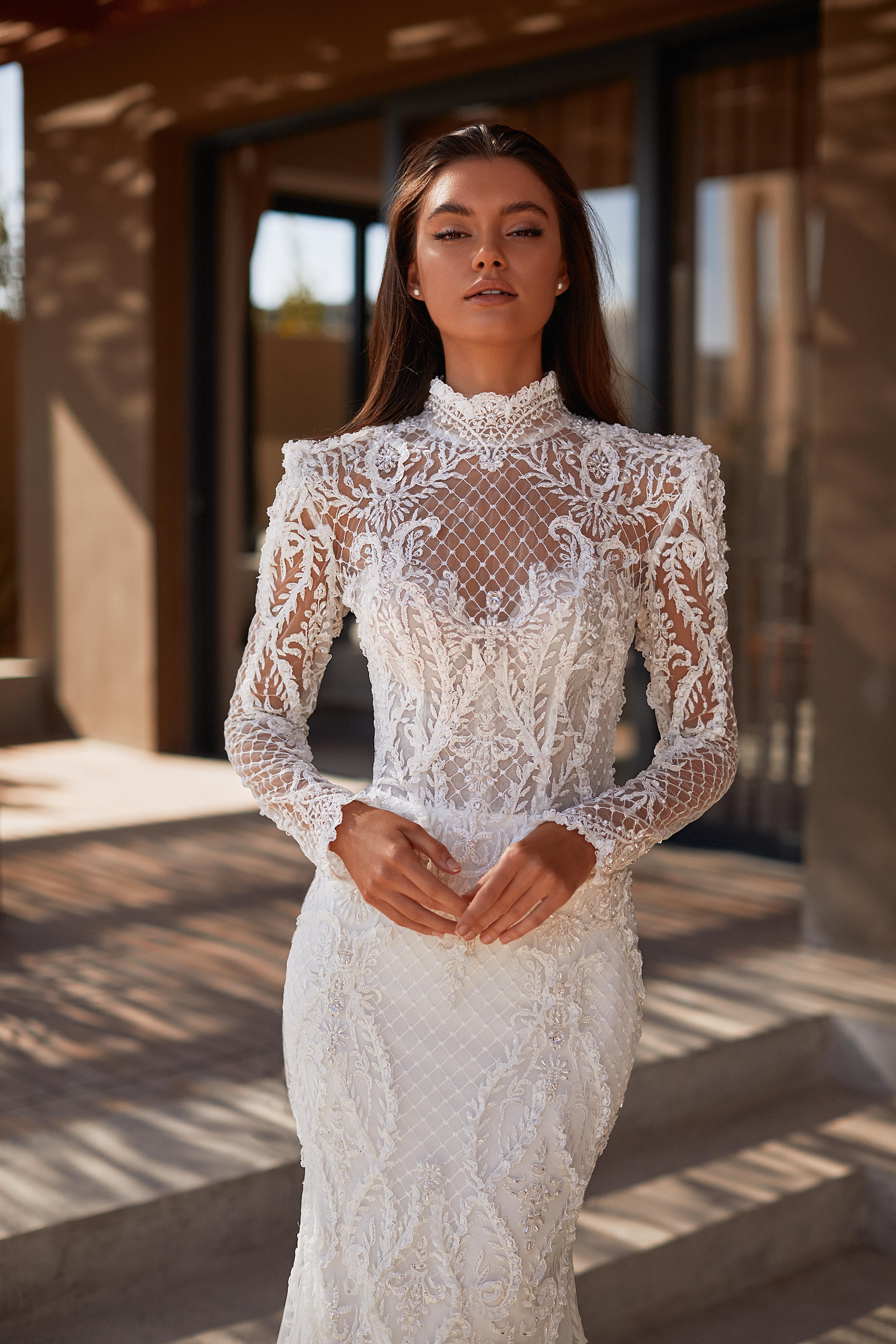 Rochie de mireasa 2021 sirena Lorenzo Rossi 2021 - model Avery