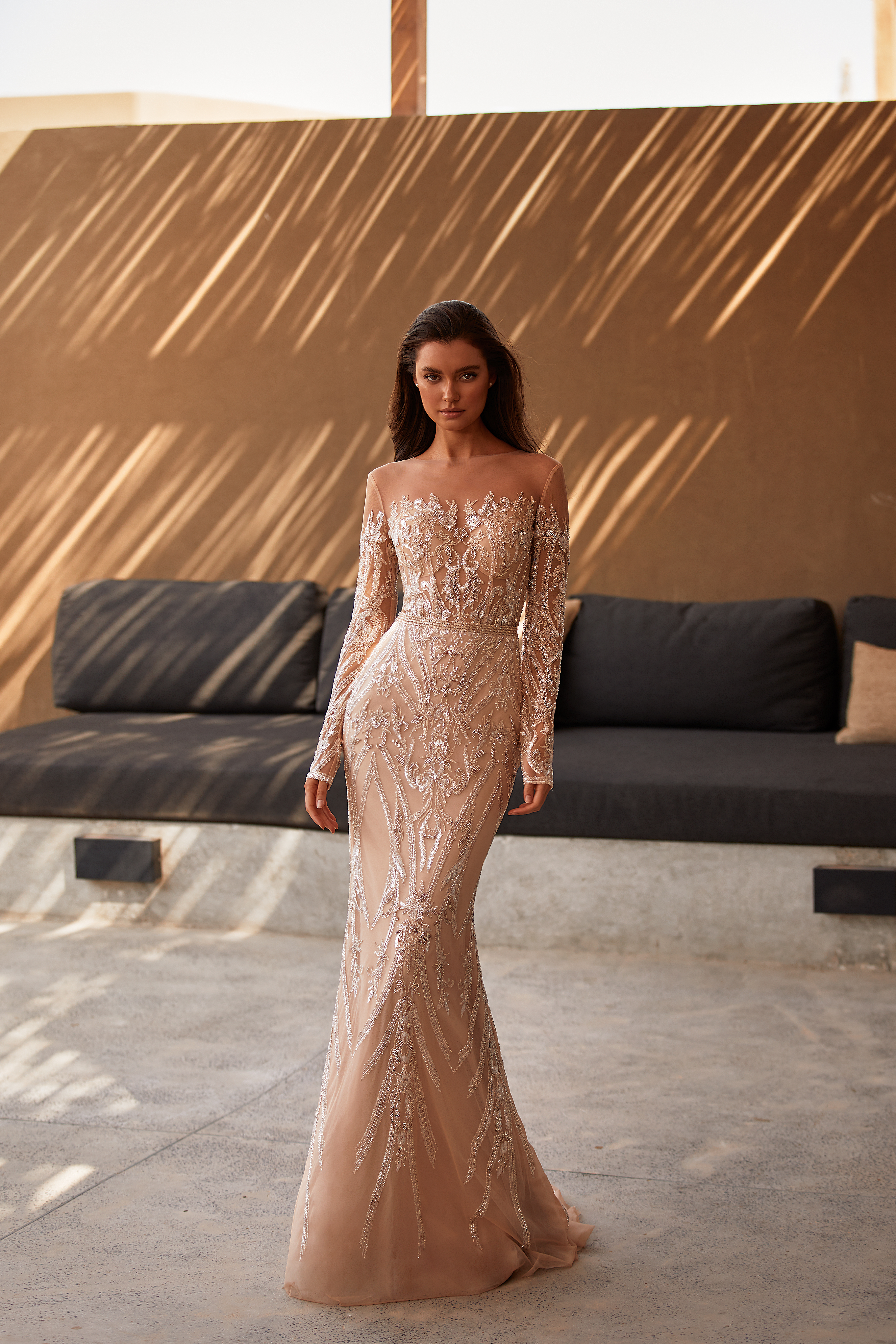 Rochie de mireasa 2021 sirena Lorenzo Rossi 2021 - model Bonya