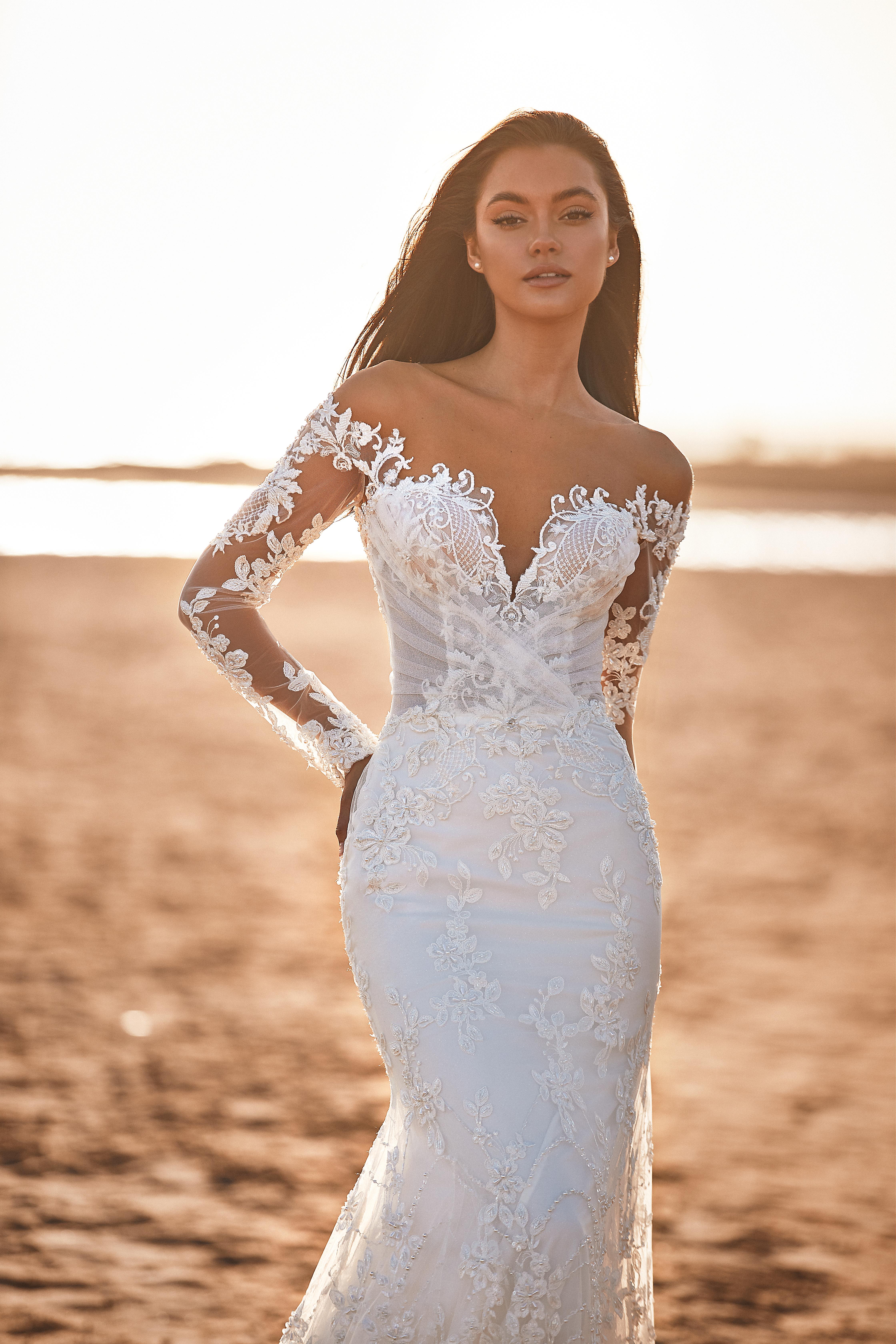 Rochie de mireasa 2021 sirena Lorenzo Rossi 2021 - model Harper